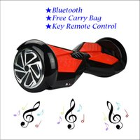 blance - 6 Inch Two Wheel Smart Blance Wheels Electric Scooters Drifting Board Bluetooth Self Balancing Music Speaker Skateboard Hovertrax