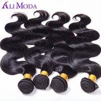 Wholesale 5A Brazilian Virgin Hair Body Wave Rosa Hair Products Brazilian Body Wave Unprocessed Human Hair Extension Alimoda hair free ship