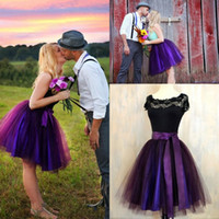 Wholesale 2016 Lovely High Waist Tutu Skirts Party Dresses Knee Length Puff Tulle Short Prom Dress Girl s Cocktail Homecoming Skirt with Satin Sash