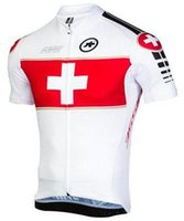 bicycle sportswear - New Men Cycling Jersey assos Bike Wear Bicycle Jerseys Short Sleeve Riding Clothing Mountain Sportswear Ropa Ciclismo Maillot XL