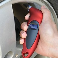 Wholesale Universal Car Digital Tire Pressure Gauge LCD Display Measuring range PSI Accuracy Retail Package SCYF0917