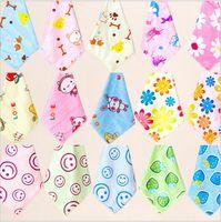 Wholesale 2015 color KID squares Face Towel wash cloth printed face cloth cotton bath towel baby handkerchief hand small hand towel TOPB3565 p