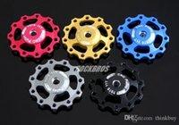 Wholesale 1pcs AEST Aluminium Jockey Wheels Rear Derailleur Pulley for SHIMANO SRAM T New