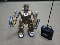 Wholesale original fighting robots RC robot with flash light electric Children s gift with gift boxs RC toys