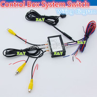 car front view camera - Car Front and Rear Side View Car Camera Control Box System Switch intelligent Car camera control switch two channel V