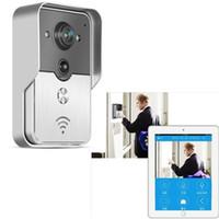 bell intercoms - 2016 Hot New Wifi Doorbell Camera Wireless Video Intercom Phone Control IP Door Phone Wireless Door bell