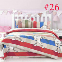 Polyester / Cotton Knitted Home Promotion! (4pcs set) king full size bedding set duvet cover Bedding sheet bedspread pillowcase 2014