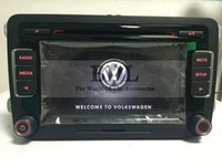 Wholesale car dvd VW Original Newest Car Radio Stereo RCD510 With Code For Golf Jetta MK5 MK6 Passat B6 CC Tiguan Without RVC Input