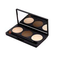 Cheap 3 color concealer Best 3 colors eyebrow palette