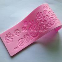 baking shop - bake tool factory shop cake silicone fondant mold for cake decorating tool mk