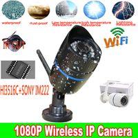 abs cameras ip - Mini MP Wireless HI3516C IM222 Onvif ABS Plastics IP Camera Wifi Outdoor Bullet P2P Onvif With IR Cut Filter Camera System