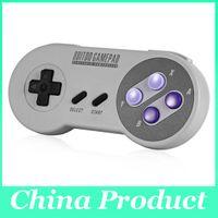 Actualizado Gamepad 8bitdo SNES30 PRO inalámbrico Bluetooth SNES controlador inalambrico para para IOS / Android joystick Gamepad pc 010110