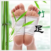 detox foot - 10Pcs Pack Feet Care Detox Foot Patch Improve Sleep Slimming Foot Care Feet stickers Genuine
