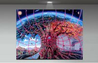 Cheap Modern wall art Trippy Alex Grey Painting On Canvas Canvas Prints Painting Pictures Decor For Living Room T 1458