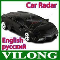 Wholesale New2015 Led Display Car Detector Car radar detector Russian English with car Anti Radar Detector factory A3
