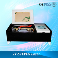 Wholesale New V W CO2 Mini Laser Engraver Engraving Cutting Machine Laser with USB Sport Support Win7