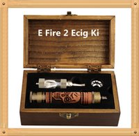 k fire ecig - E Fire mod E cigarette Variable Voltage Battery Metal bottom Battery Mod K Fire Ecig Kit with iclear Atomizer vs G PRO snoop D