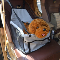 dog carriers - Inside The Car Dogs Carriers for YHT Grey Color Designer Dog Carrier Bags Nylon Oxford Mesh Fabric Portable Travel Bags