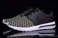 fabric mesh - NIKE ROSHE M men discount nike roshe run running shoes brand breathable athletic training shoes summer shoes glow in the dark