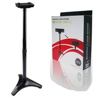 Wholesale 1 Pc Hot Sale Black Sensor Camera Floor Tripod Mount Dock Stand Holder For X One Kinect with Retail Package