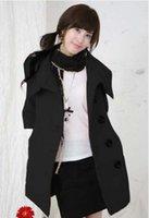 best wool coat brands - 2016 best selling women s fashion brand long sleeved wool long coat black