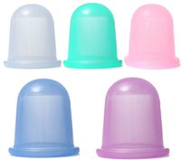 Wholesale Full Body Massager Silicone small body cups anti cellulite vacuum massage cupping cups size cm