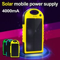 Wholesale 2015 bateria externa external battery New Solar Power Bank mah solar charger panels for iPhone for HTC for PSP by DHL