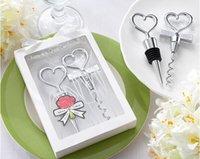 heart bottle opener - Wine Bottle opener Heart Shaped Great Combination Corkscrew and Stopper Heart Shaped Sets Wedding Favors Gift sets