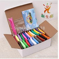 bag in box machines - 20g Bag Colors Box with tools Hot selling Colorful Soft Polymer Modelling Clay super light clay good package dry in air