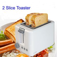 Wholesale 230V Hz W Household kitchen Baking Bread Machine Toaster Breakfast Machine Toast Furnace white color