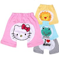 Wholesale new hot summer baby cotton pants pp pants boys and girls pp shorts direct supply