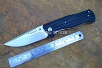 adventure free - Y START pocket knife outdoor tool folding Knife training knife AUS balde G10 Handle adventure knife