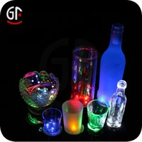 Wholesale 100pcs per LED Bottle Light with M Sticker White Light LED Bottle Sticker for Wedding
