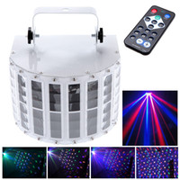 Sound Active led projector light - 6 Channel RGBW Dmx512 Stage Lighting Effect Voice activated Voice control Automatic Control LED Laser Projector DJ Home KTV Disco L0142