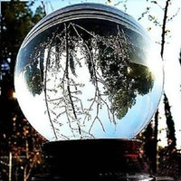 Wholesale 70mm Rare Clear Natural Quartz Crystal Ball Magic Sphere Balls for Home Decoration Glass order lt no track
