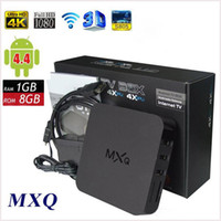 Wholesale TV BOX MXQ Amlogic S805 Quad Core H Android Kitkat GB RAM GB ROM XBMC Kodi Fully Load Free Movie Sports Media Player MQ50