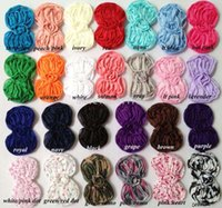 shabby flower trim - DHL yards quot shabby chic chiffon bow trim shabby flowers bundles colors for selection