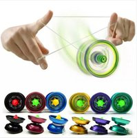 balls tricks - Aluminum Design Professional YoYo Ball Bearing String Trick Alloy Kids Brand New Good Quality