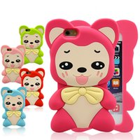 ali case - For iPhone Soft Cases New Design Cartoon Ali Big Ear Silicon Case Cartoon Silicone Cover Good DHL Free Shipp