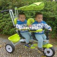 baby bike seat - Biest twins double child tricycle bike double seats baby tricycle biest baby stroller