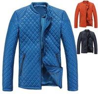 add down jackets - Fall Autumn Winter Men Fashion Warm Jacket Size M XL ADD Fleece Soft Shell Plaid Design Man Casual Down Coats