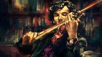benedict cumberbatch - Hot selling oil painting on canvas benedict cumberbatch violin sherlock alicexz x36inch no frame