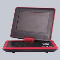 9.8 pulgadas multifunción Portable Home DVD Player HD TV Puerto USB de la ayuda, juego de la tarjeta del SD y pantalla de alta definición del eslabón electrónico