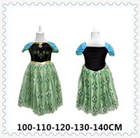 Cheap TuTu frozen girls dress Best Summer Straight costume dress