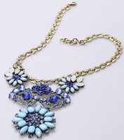fashion jewelry dropship - Fashion Pendant Chain Crystal Choker Chunky Statement Bib Necklace Jewelry Dropship is Available dhgate com Freeshipping