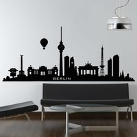 berlin wall piece - Hydrogen Balloon Berlin Wall Sticker City Home Decor Living Room Sofa Background Wall Mural