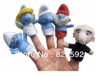 Cheap Wholesale-Free Shipping 8cm high 10pcs Plush Toys for children Finger Puppets Tell Story Props(5pcs group)  Kids Toys  Children Gift