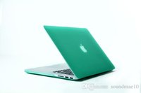 Wholesale 16 color option high quality Matte Rubber Case Frosted shell For Apple macbook Air Pro Retina