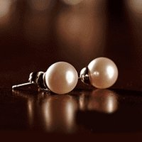 allergic to gold plated jewelry - E447 natural freshwater pearl earring jewelry earrings are not allergic to simple jewelry ol titanium steel ear acupuncture