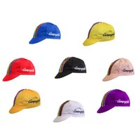bicycle campagnolo - Campagnolo Retro Classical Pro Team Cycling Cap Bike Bicycle Outdoor Sport caps fixed gear cap cotton APIS
